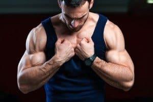 Muskuløs mand