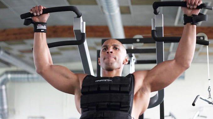 Træning med en vægtvest