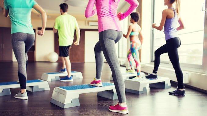Stepbræt træning