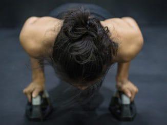 Push up bar træning