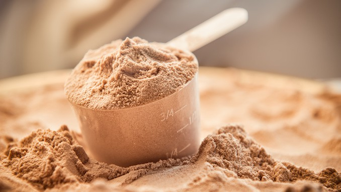 Økologisk proteinpulver