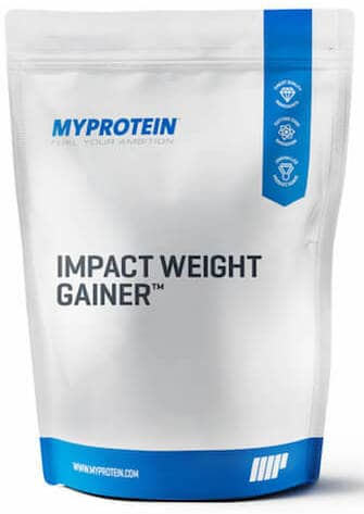 Impact weight gainer fra Myprotein