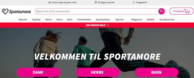 Billigt trænings tøj fra Sportamore