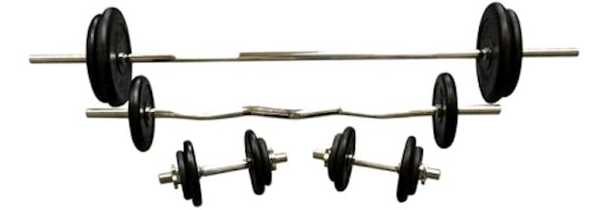 Vægtstangssæt fra Getbig