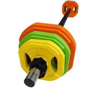 Aerobic bodypump vægtstang sæt fra Nordic Strength