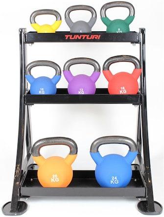Kettlebell sæt fra Peak Fitness på tilbud
